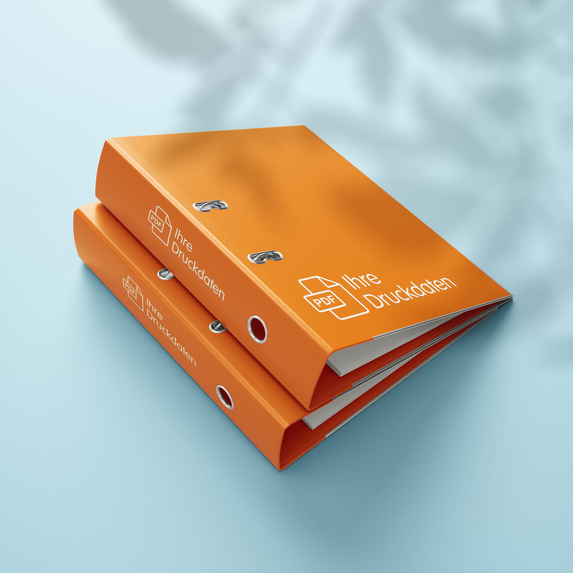 Ordner - Design Orange
