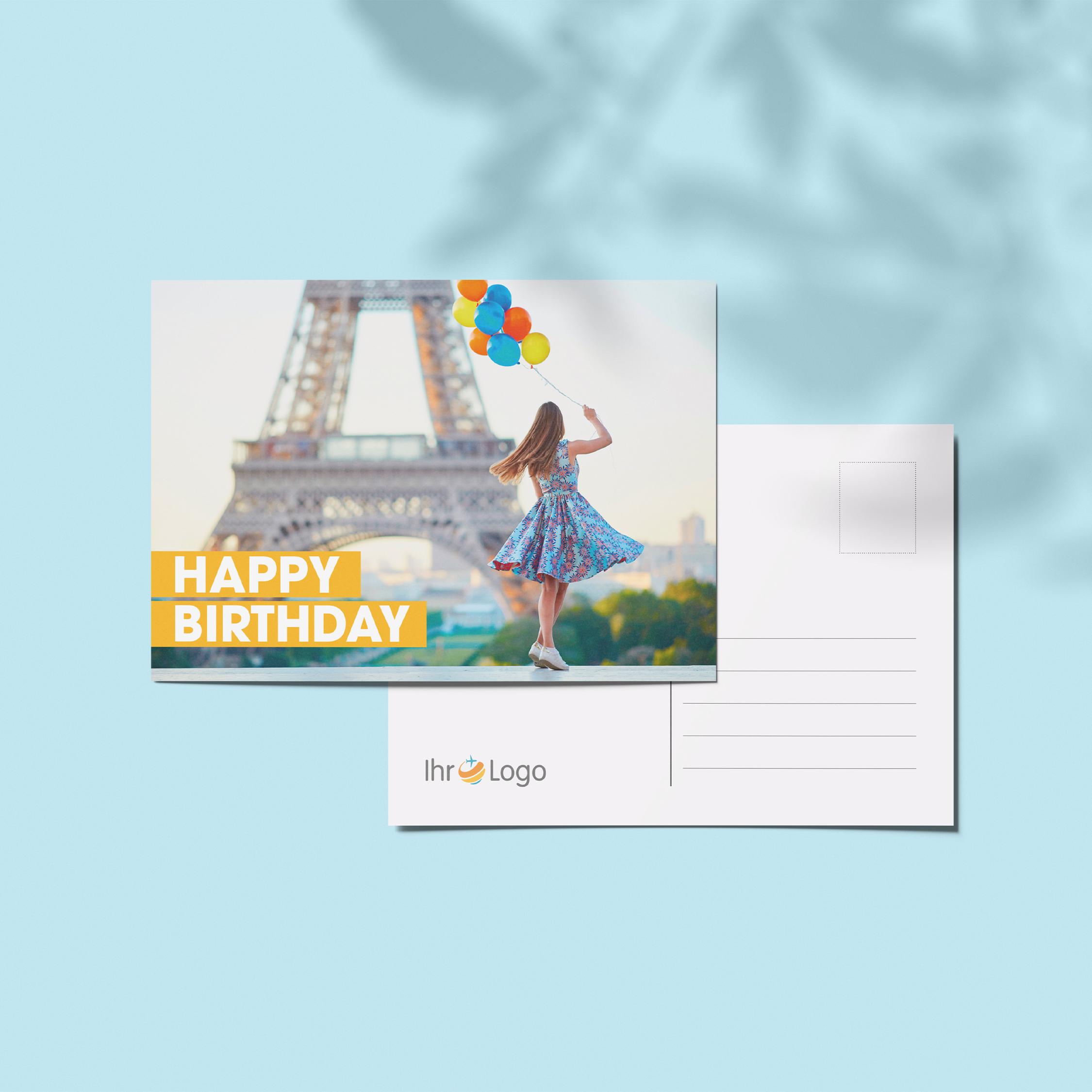 Geburtstagskarten - Design #7