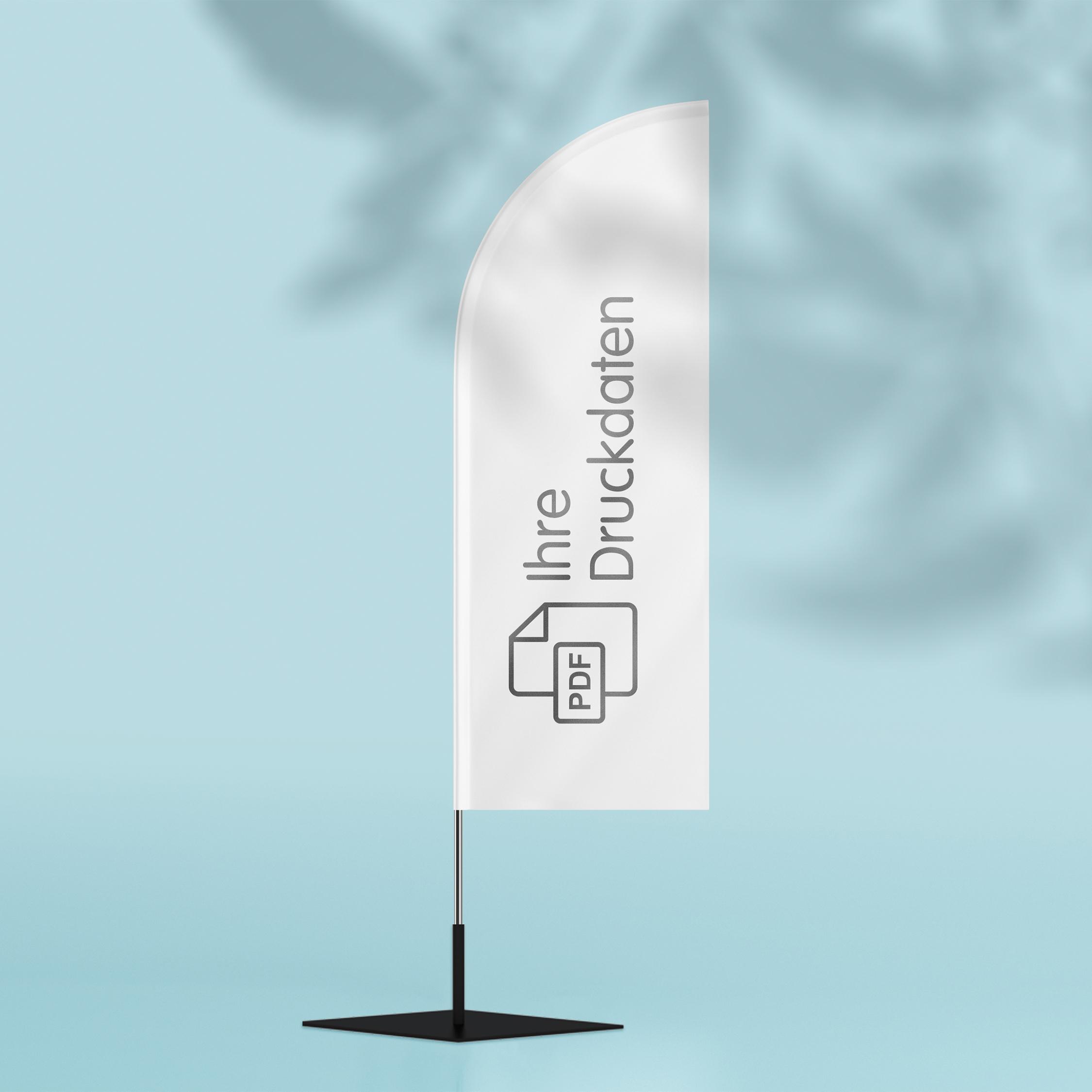 Beachflag - Design White