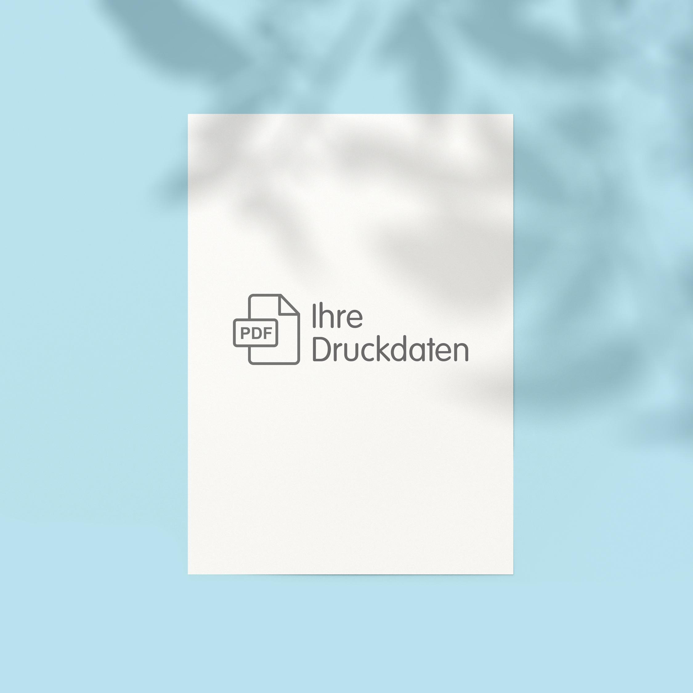 Briefpapier (einseitig) - Individuell