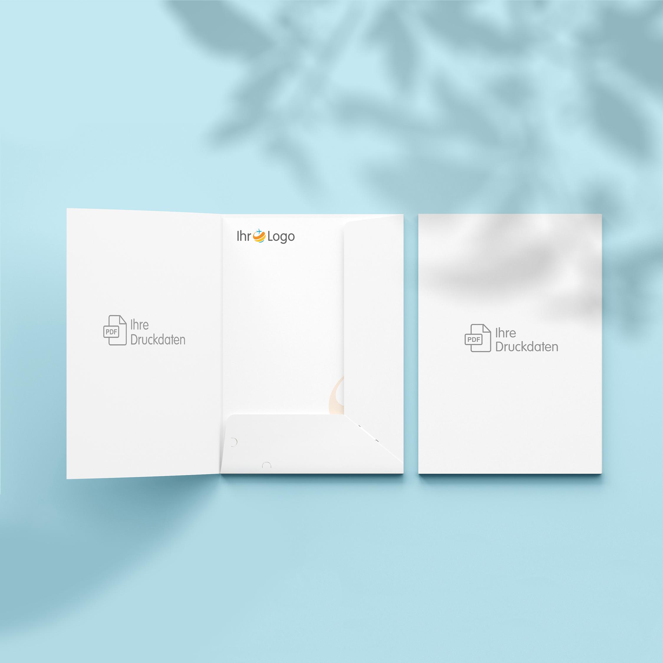 Präsentationsmappen - Design White
