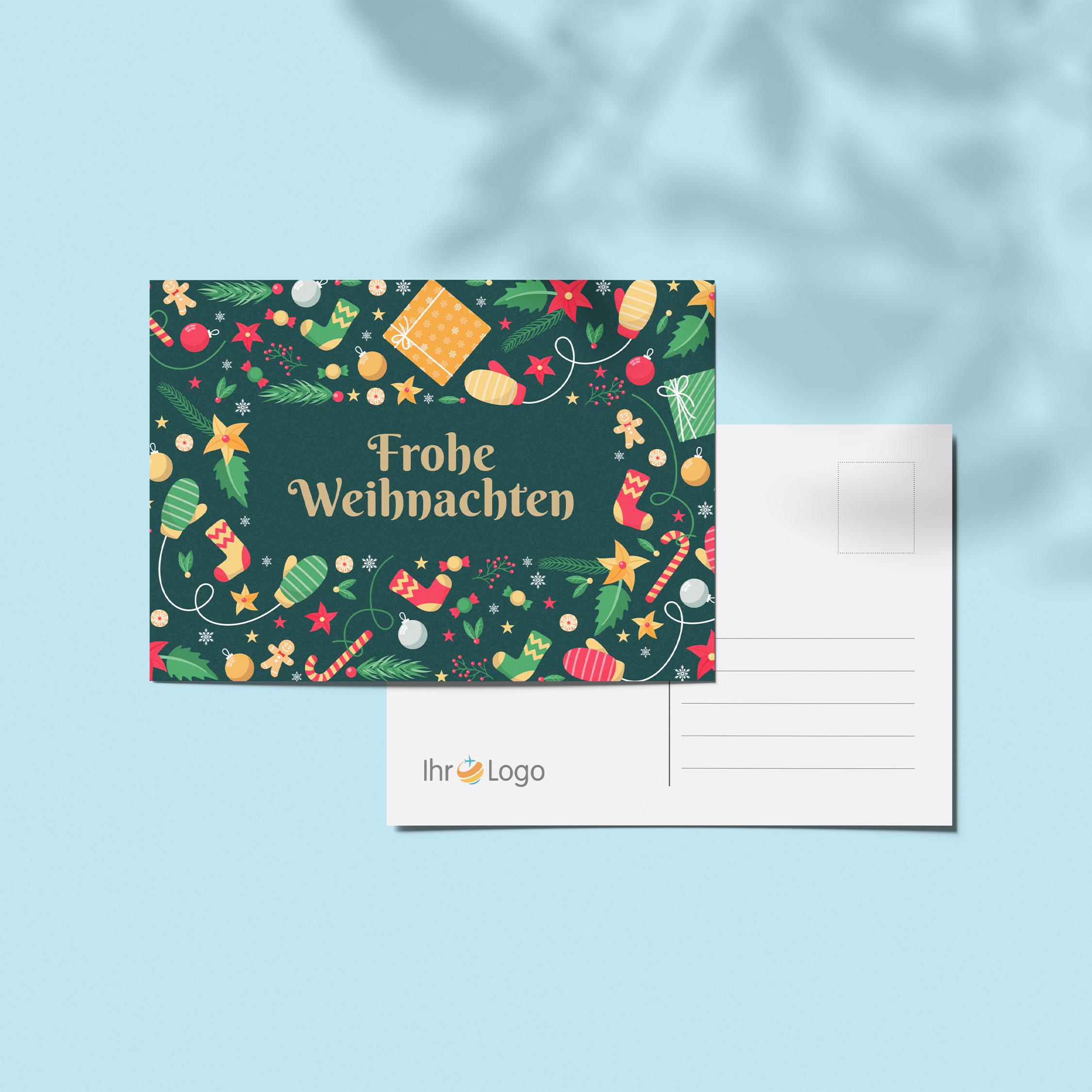 Weinachtskarten - Design #1