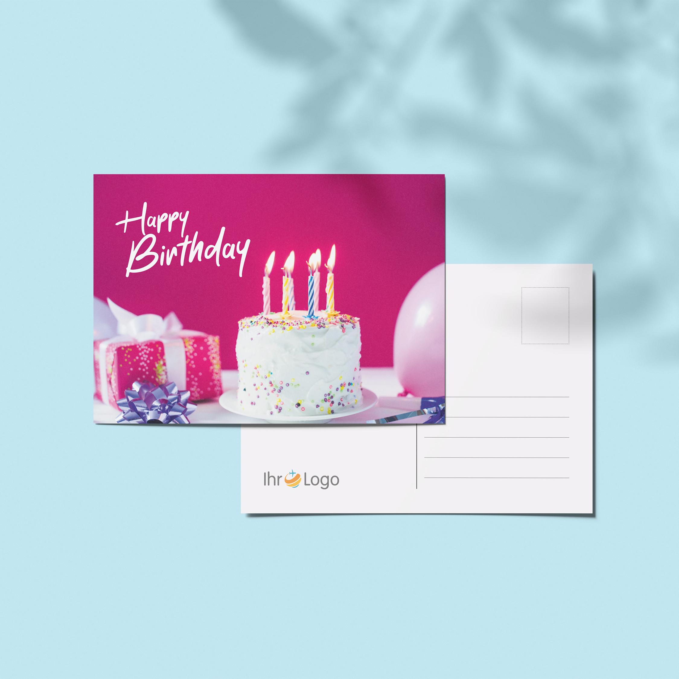Geburtstagskarten - Design #6