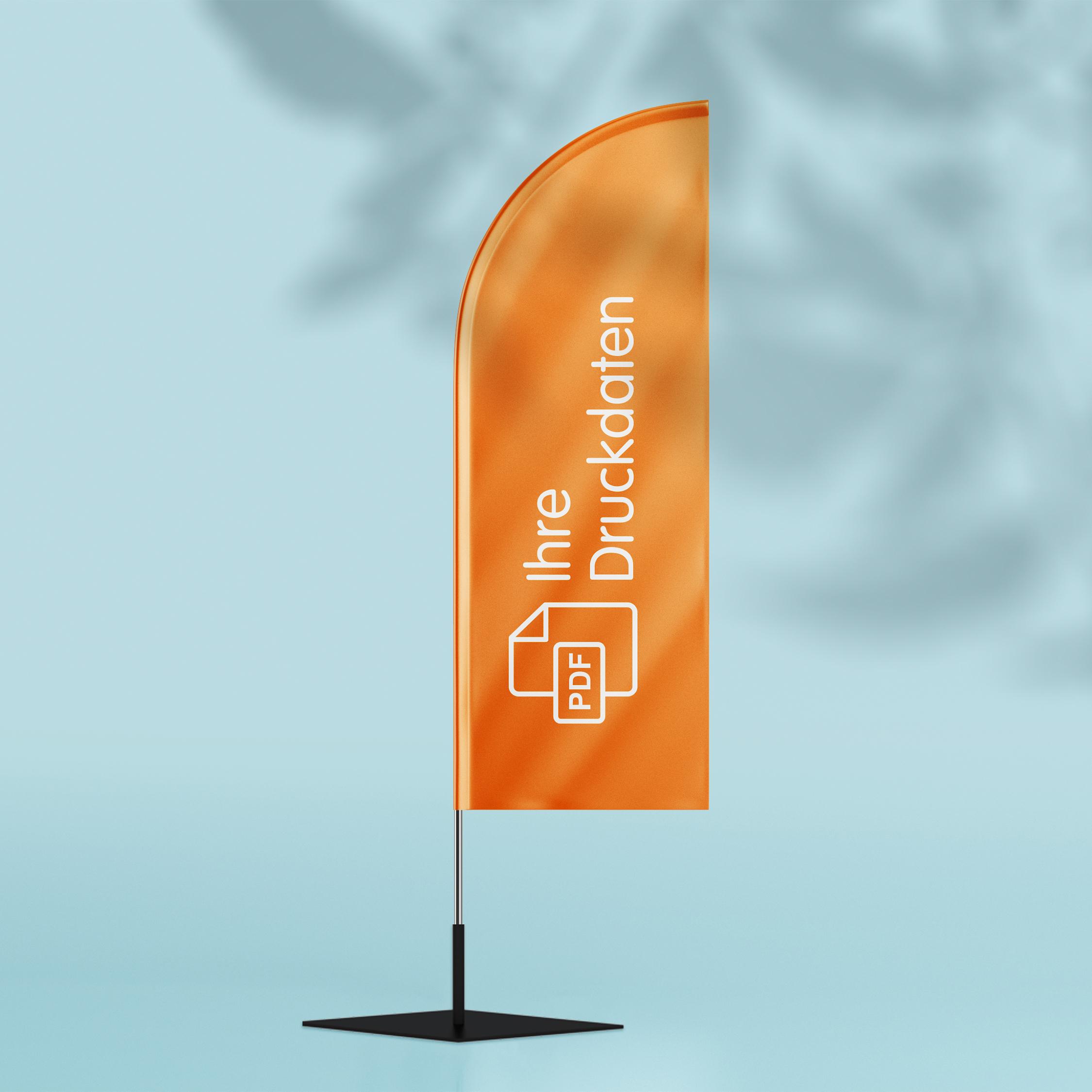 Beachflag - Design Orange