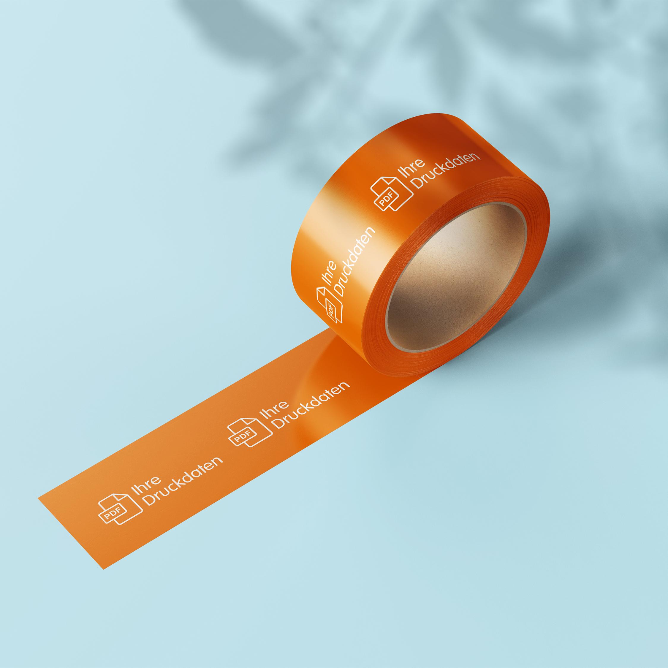 Klebeband - Design Orange