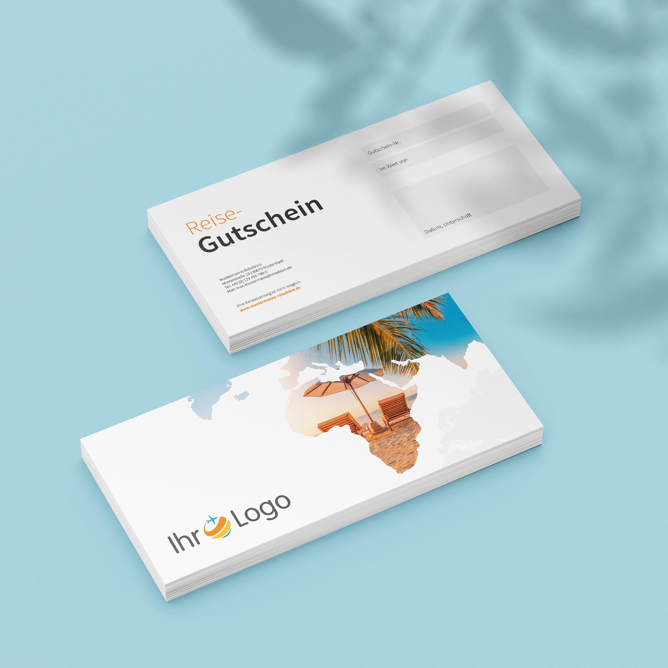 Gutscheine - Design #1