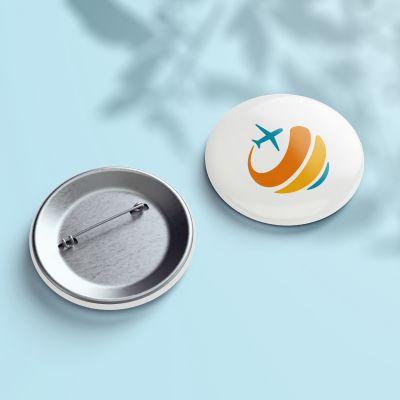 Button - Design White